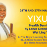 March 2019 Health Seminar with Grandmaster Wei Ling Yi